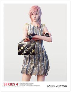世界的ブランド「ルイ・ヴィトン」がモデルに起用したのはゲームキャラ!?