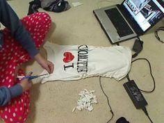 DIY  for tee shirts   ... your T-Shirt - Simple DIY Tutorial - Custom Tee Shirts video - Fanpop