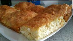 Cornbread, Feta, Deserts, Food And Drink, Dairy, Cheese, Cooking, Breakfast, Ethnic Recipes