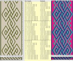32 tarjetas, 2 / 4 colores, repite cada 16 movimientos // sed_326 diseñado en GTT༺❁