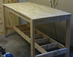how to build a workbench_09 #Workbenchplans