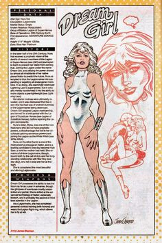 Dream Girl from DC Comics WHO'S WHO