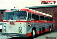 The bus above is a Fitzjohn Roadrunner, an intercity model manufactured by the Fitzjohn Coach Corp in Muskegon Michigan, from The Roadrunner was the final bus produced by the […] Retro Bus, Muskegon Michigan, Rv Bus, Vintage Cars, Vintage Auto, Bus Conversion, Bus Driver, Bus Stop, Train Car