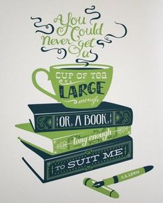 CS Lewis quote that I'd have on a mug