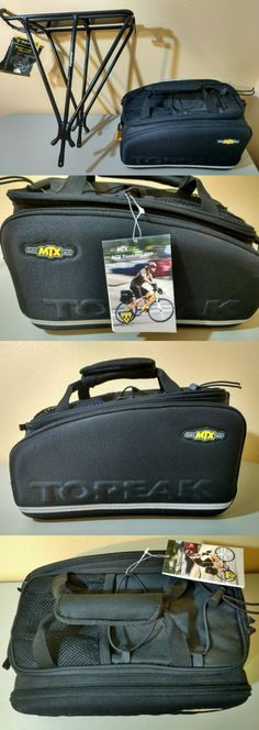 Bags and Panniers 177833: Topeak Mtx Bicycle Trunk Bag Exp And Explorer Rack Combo With Quick Track System -> BUY IT NOW ONLY: $119.99 on eBay!