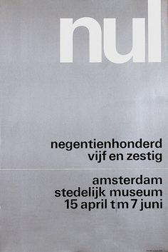 Wim Crouwel - Nul, Stedelijk Museum Amsterdam, 1965