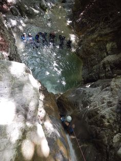 The place to be : www.mountacala.com/canyoning-annecy/