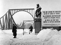 Glienicker Brücke, Bridge of Spies, connecting Potsdam and Berlin near Klein Glienicke
