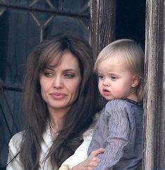 Angelina Jolie et sa little Vivienne