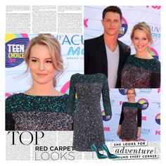Bridgit Mendler~Teen Choice Awards 2012 by tvshowobsessed on Polyvore featuring polyvore fashion style French Connection Kate Spade Universal clothing