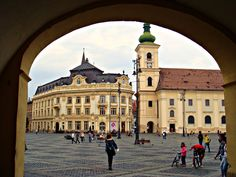 weekend in sibiu-old town Places Around The World, Around The Worlds, Sibiu Romania, Cultural Capital, Early Middle Ages, Famous Places, 14th Century, Old Town, Places To See