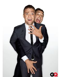 the two loves of my life: jimmy fallon and justin timberlake #gq