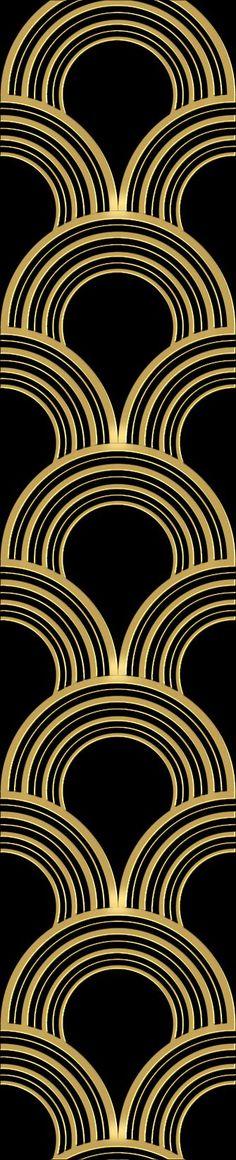 Art Deco Pattern – shared on Deviant Art by ghazaryang
