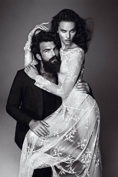 Dimitris Alexandrou is a Dapper Groom for Vogue Spain October Issue
