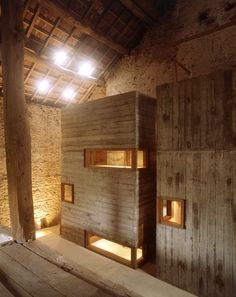 Beautiful renovation of 17th century barn by Christian Pottgiesser
