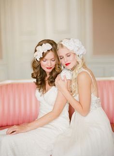 French Bohemian & Art Deco Glamour Headpieces