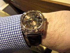 Sportswatchblogger - Der Sportuhren Blog : Rolex Oyster Perpetual Sky-Dweller Referenz 326135...