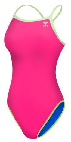 6813b8ad53793 TYR Women s Double Binding Reversible Diamondfit Swimsuit