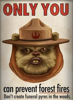 Smokey The Ewok