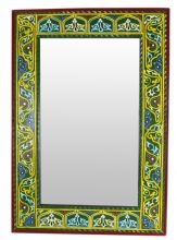 A selection of Moroccan mirrors handmade hand engraved and hand-painted by master craftsmen in Morocco Mirrors with beautiful hand crafted frames in Moroccan Mirror, Frame Crafts, Hand Engraving, Beautiful Hands, Tea Pots, Sink, Hand Painted, Rugs, Mirrors
