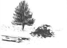 Grantræ og sne