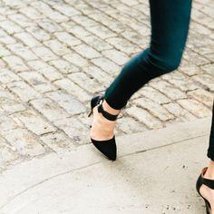 Slip. Zip. Turn. Nod. Smile. Prepare for compliments.