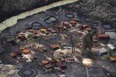 Niger Delta destroyed refinery