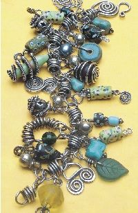 Life's a Charm bracelet by Connie Fox