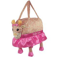 Laid Back Snuggle Duffle Bag, Lanky Lanie Giraffe