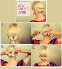 motivational trends: Ladies Hair Style Tutorials...