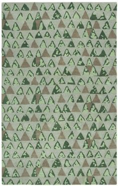 Panache Pyramid Rug in Sand is a spunky rug perfect for a kid's room! #CapelRugs