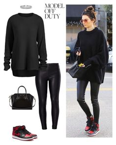"""""""Sin título #279"""" by darklady028 ❤ liked on Polyvore featuring Venus, NIKE, Bling Jewelry and Givenchy"""