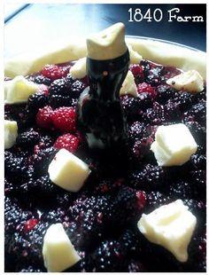 Raspberry Pie with Pie Bird at 1840 Farm