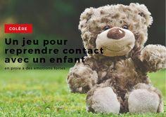 [COLÈRE] Un jeu pour reprendre contact avec un enfant en proie à des émotions…