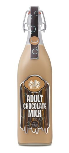 The Adult Chocolate Milk is the classic childhood-flavored drinks that are spiked with liquor. Made by Temperance Distilling Company in Temperance, Michigan, the Adult Chocolate Milk is a 40 proof ABV) liqueur that will soon be joined by several Yummy Drinks, Healthy Drinks, Fun Drinks, Caramel Vodka, Alcoholic Drinks, Beverages, Like Chocolate, Almond Chocolate, Chocolate Liqueur