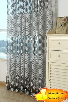 Free shipping fashion new arrival  jacquard clipping140CM*260CM ready made living room curtain