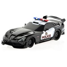 Turn your house into a racetrack with this remote-controlled Dodge Viper car, which can travel up to 100 feet away from the remote. It operates on a tri-band system, so you can use it simultaneously w