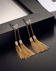 Shop NEOGLORY Champagne Earrings online❤️ VIP.com offers quality Earrings from fashion designers at affordable prices.