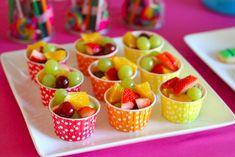 Festa de aniversário saudável pode - e deve - ser saborosa!