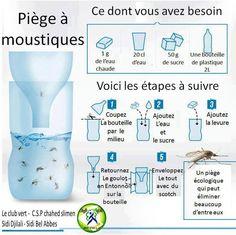 Piège à moustique. Attention, j'aime la nature, qu'on se le dise. Mais les moustiques-tigres, je ne les aime pas du tout !  Je vais tester ce piège cet été, et je ferai le bilan de son efficacité.