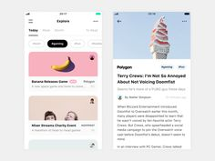 Article Feed for iOS