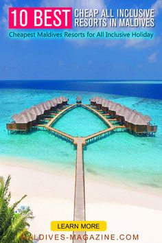 With stretches of dazzling soft white sand, crystal clear lagoons and an incredible underwater world all inclusive Maldives vacation is the stuff of dreams. Cheapest All Inclusive Resorts, Best Resorts In Maldives, Cheap All Inclusive, Maldives Vacation, Maldives Honeymoon, Maldives Resort, Vacation Trips, Dream Vacations, Vacation Spots