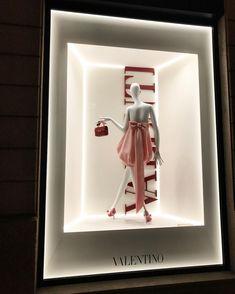 "VALENTINO, Via Montenapoleone, Milan, Italy, ""Pink Dreams, Babies!"", for Milan Fashion Week, words/photo by Svetlana Gotham, pinned by Ton van der Veer"