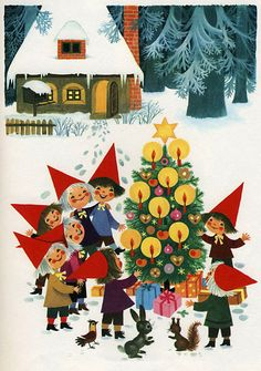Christmastime In Pixieland 5 - The Tree