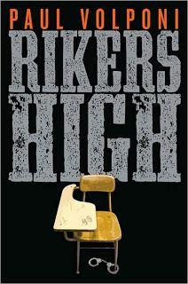Rikers High by Pal Volponi. Martin is accused of a crime and subsequently incarcerated but later allowed to attend high school in prison, where he meets a teacher who believes in him. Important to class: shows the hardships of prison life and the school-to-prison pipeline. Important to me: shows the positive influence teachers can be in their students' lives
