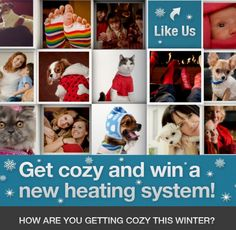 Enter to Win a New #Heating System