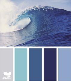 design seeds blue on Pinterest | Design Seeds, Color Palettes and ...