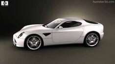 Alfa-Romeo 8C Competizione 2007 by 3D model store Humster3D.com