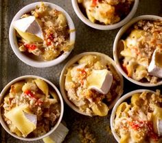 Good lord - three of my favourite things...Macaroni And Brie With Crab