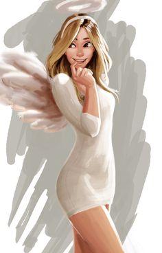 Angel by Raichiyo33 on DeviantArt